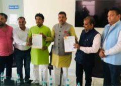 भाजपा जिलाध्यक्ष गोपाल शर्मा ने ओबीसी मोर्चा का किया विस्तार